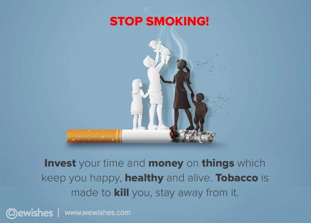 Anti-Tobacco Day Quotes