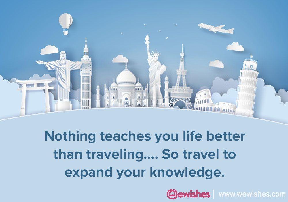 World Tourism Day Quotes, 2020
