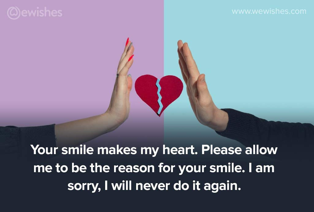 Sorry Messages for Girlfriend, messages for girlfriend