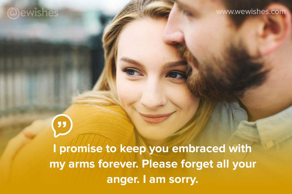 Funny Sorry Messages for Girlfriend, I am sorry