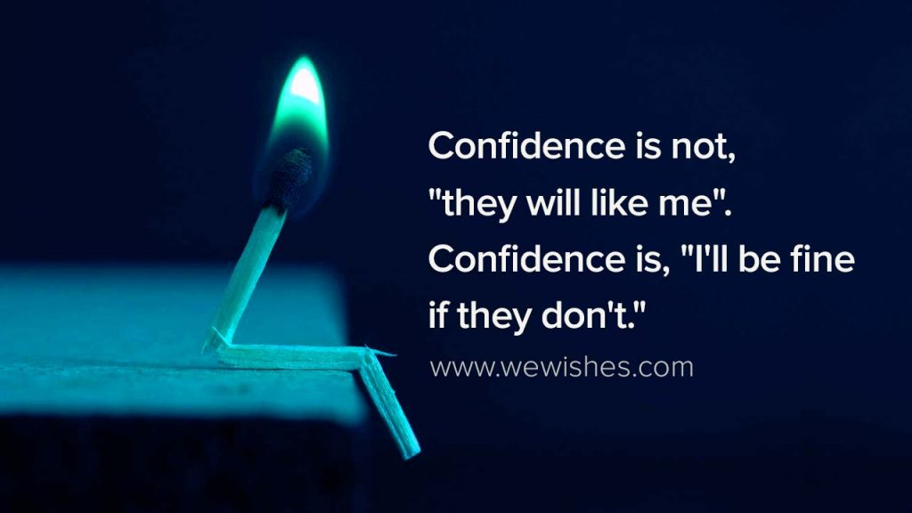 Confidence is not,nofap