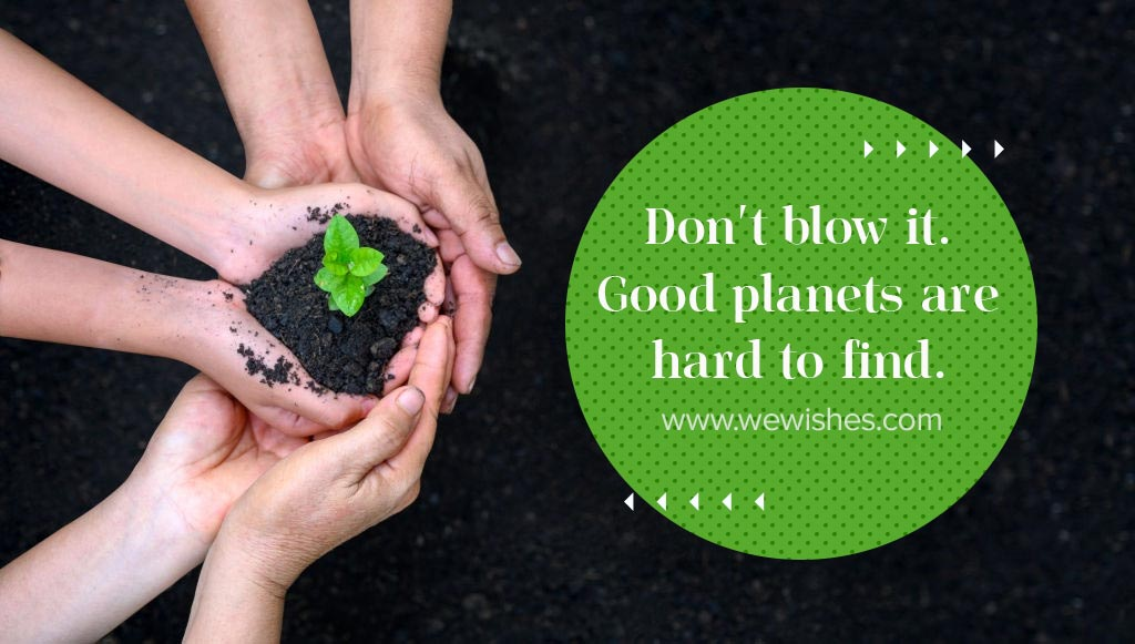 Earth Day Wishes, Status