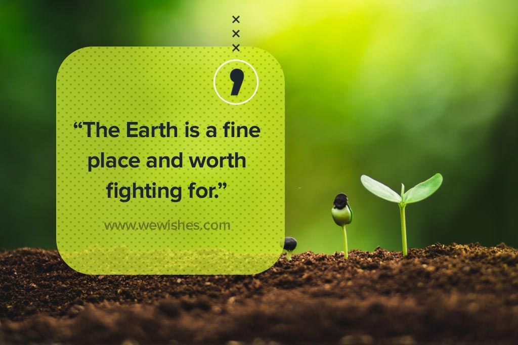 Earth Day Wishes, Image