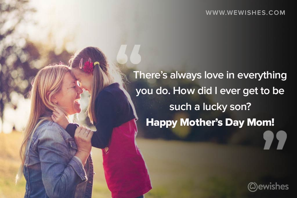 Mother's Day Wishes Card