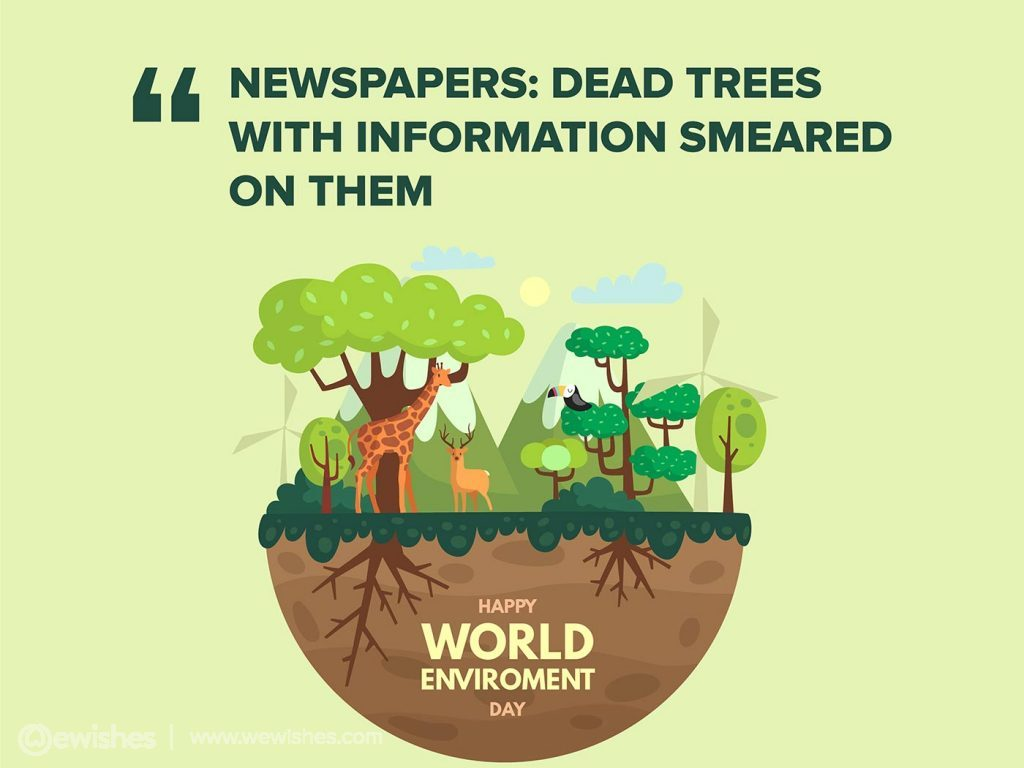 Environment Day Quotes 2020