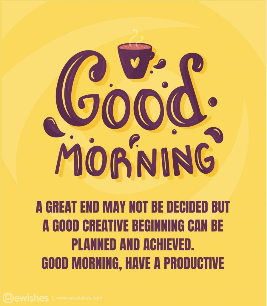 Daily Good Morning Wishes
