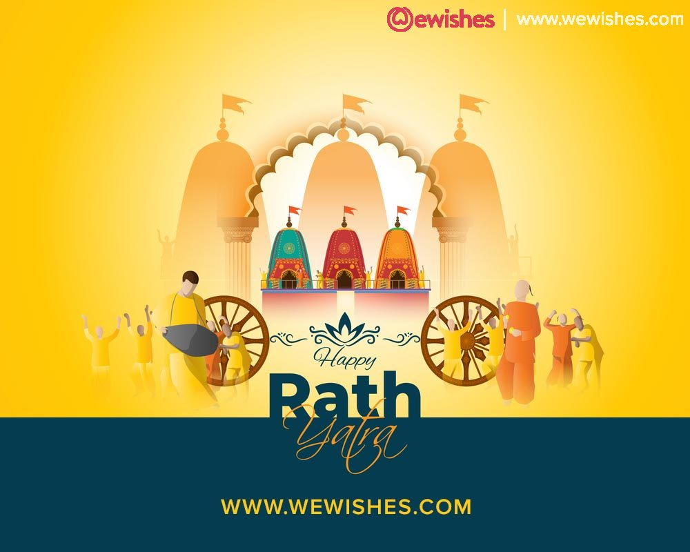 Happy Rath Yatra Wishes, 2020, Messages