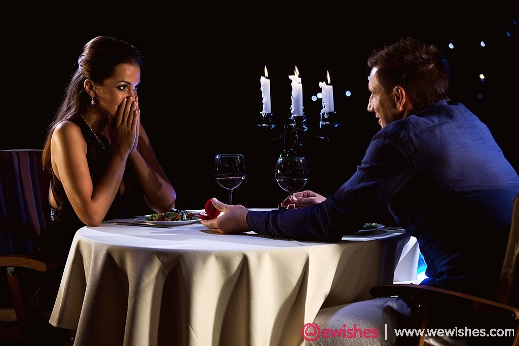 Surprise Candlelight dinner