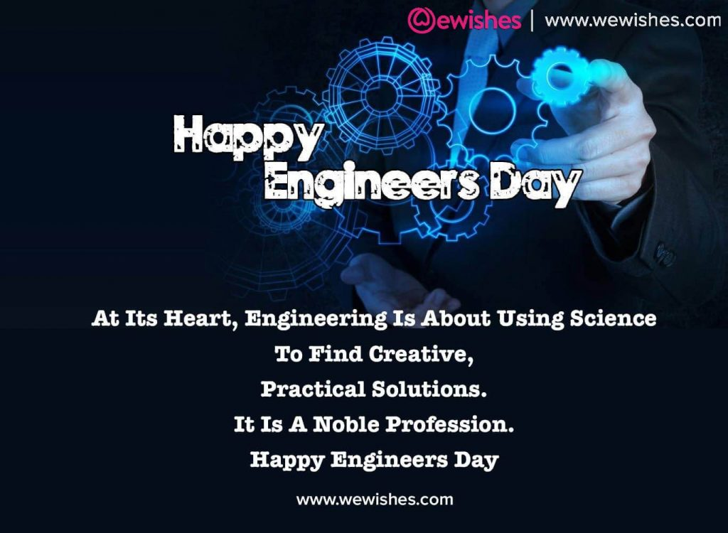 Engineer's Day Wishes