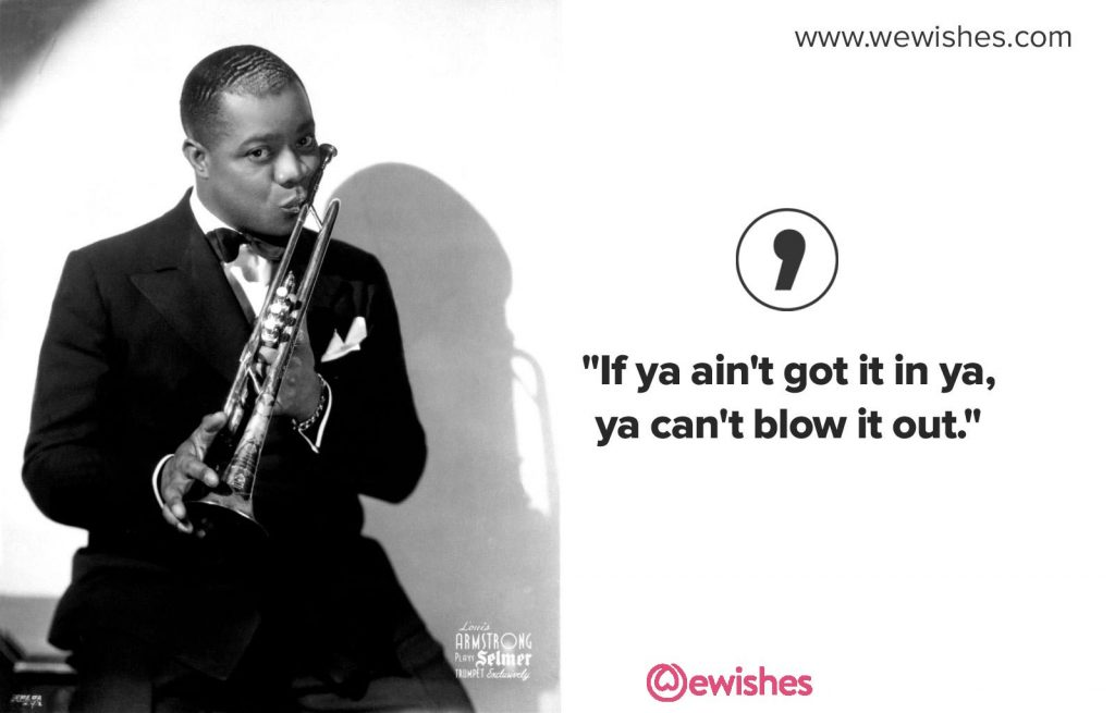Louis Armstrong Quotes, image
