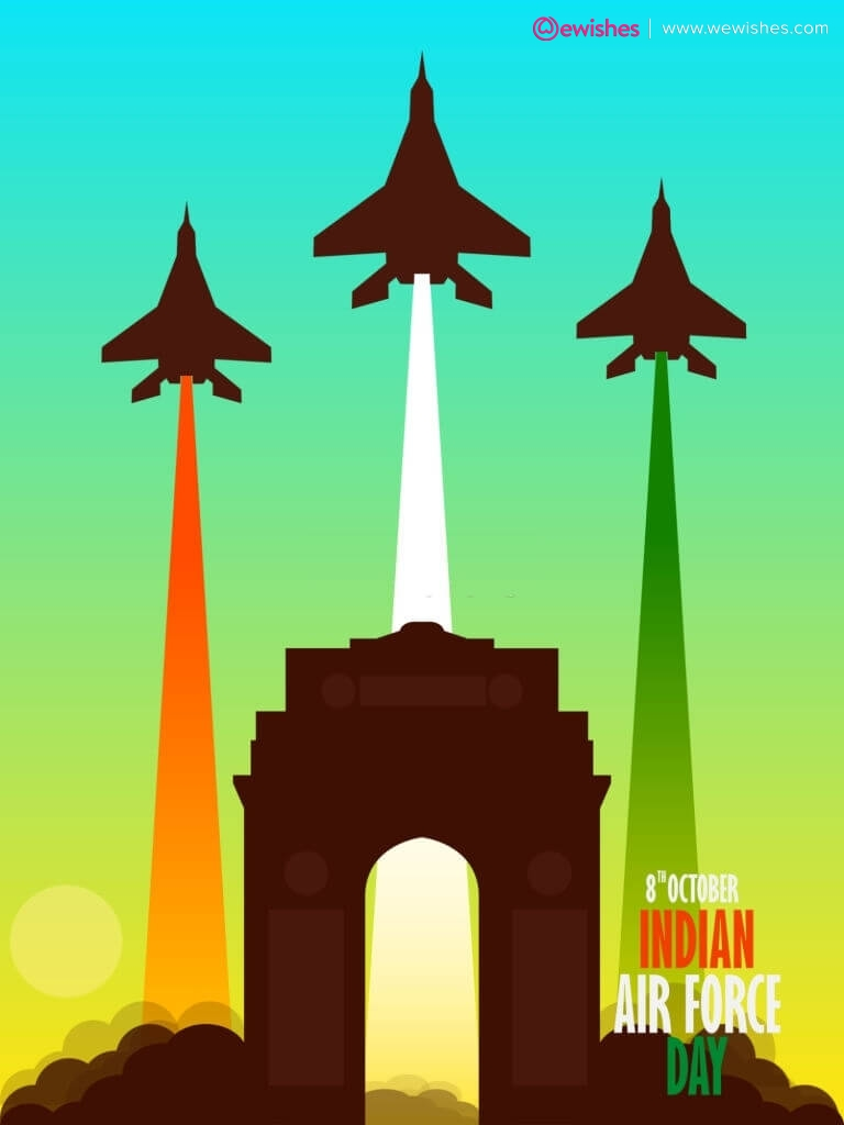 Happy Indian Air Force Day Quotes