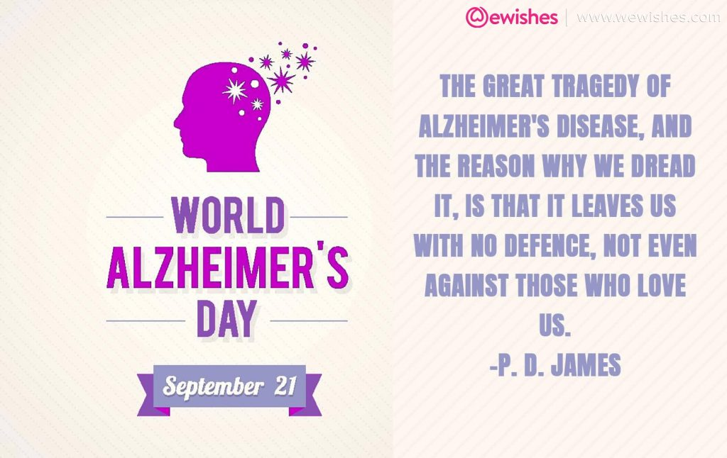 Alzheimer's day Quotes
