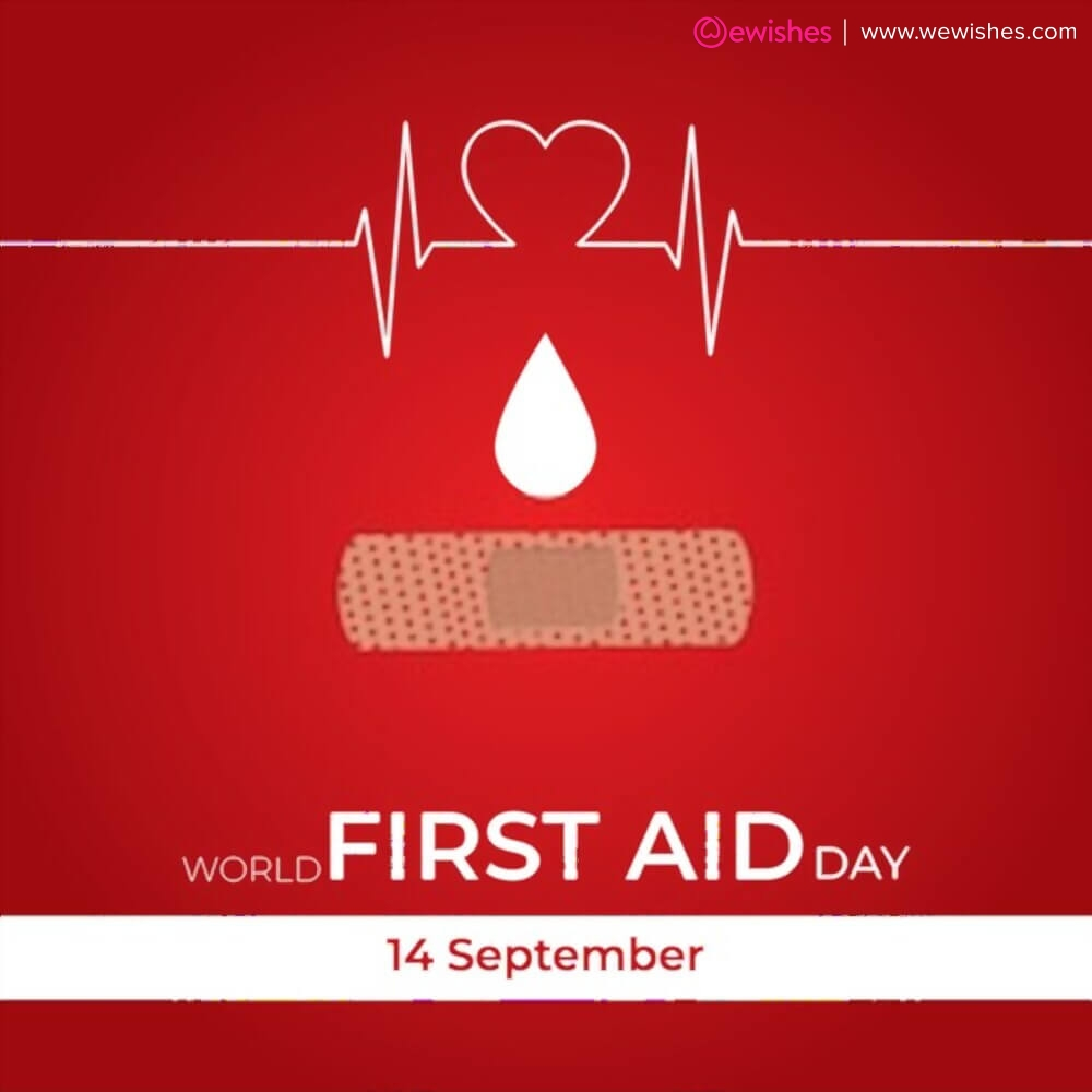 World First Aid Day poster