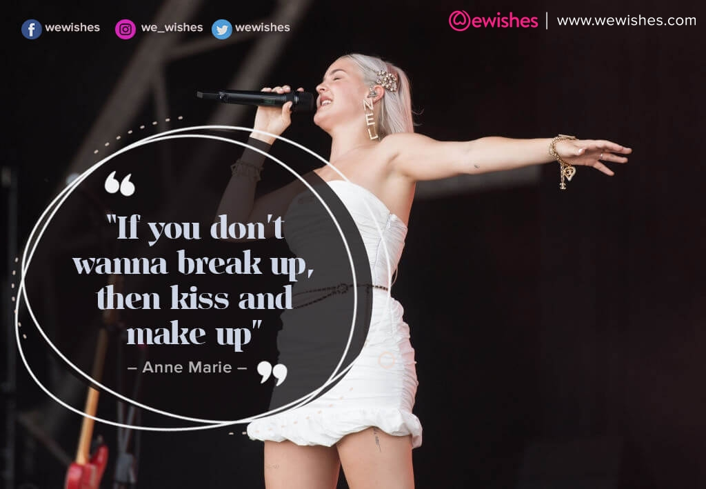 Anne Marie quotes 2020