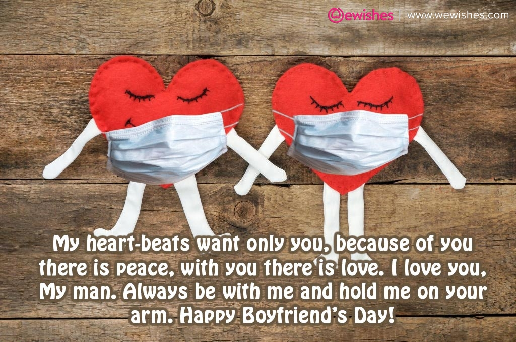 Boyfriend Day Wishes and Images