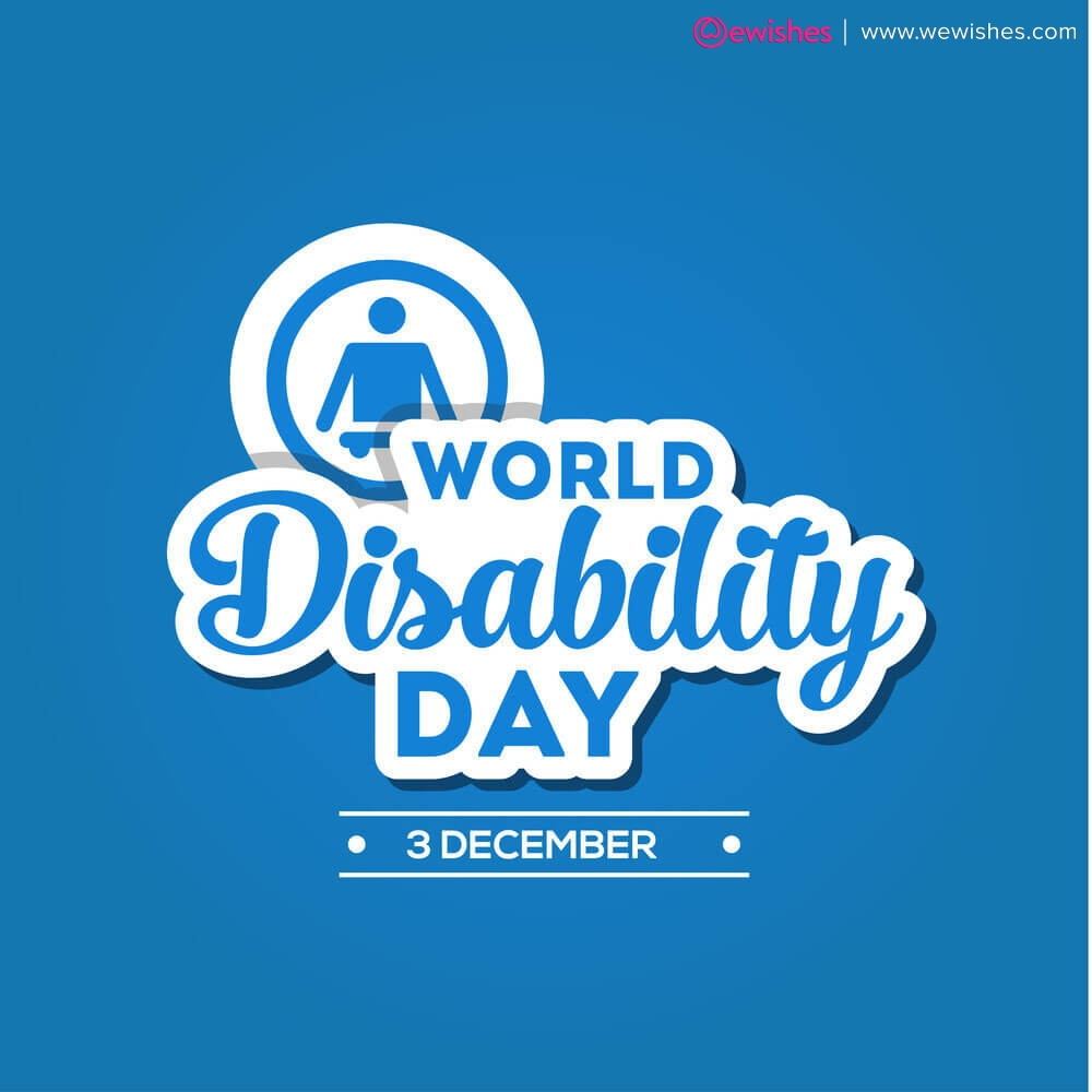 World Disability day 2020 wishes