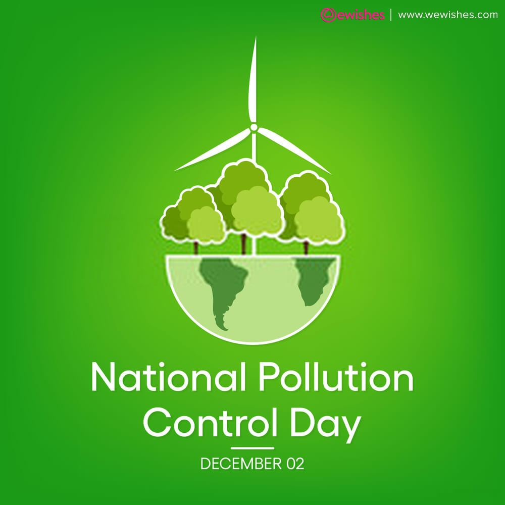 National Pollution Control Day Poster